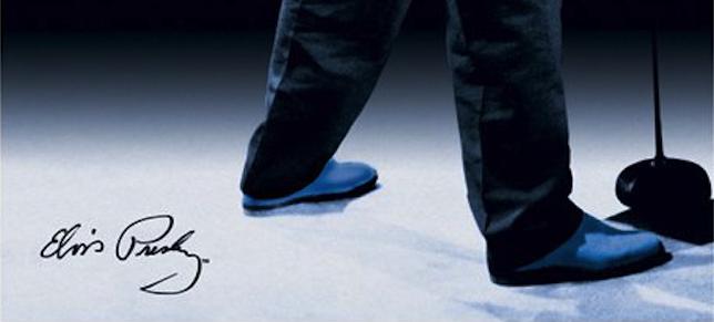 Elvis Blue Suede Shoes Color