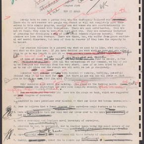 The Original Manuscript of AA's Big Book