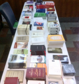 2011 NYC Conference Book Table