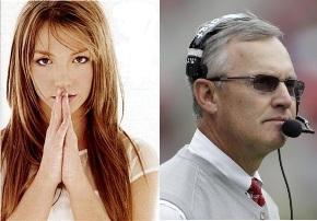 Jim Tressel is Britney Spears