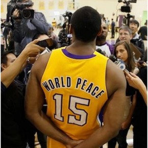 World Peace Ejected from NBA Game