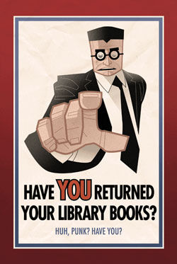 Have You Returned Your Library Books