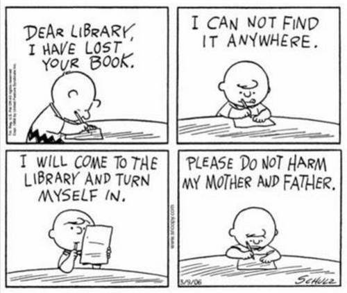 Peanuts Library Books