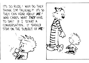 A Quick (and Timely) Calvin and Hobbes