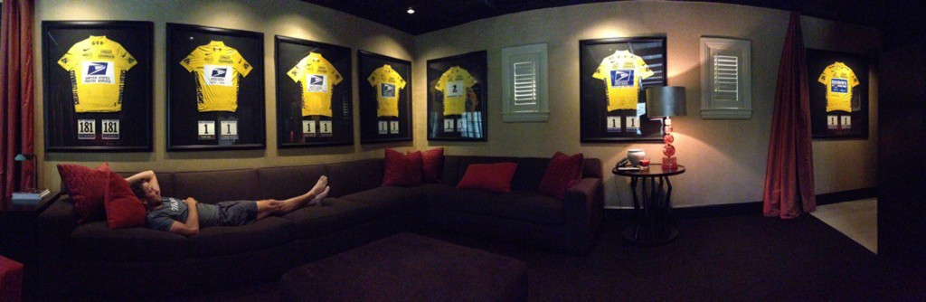 Lance Armstrong Twitter Picture