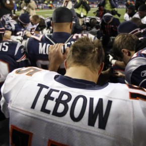 Tim Tebow at the Bottom of His Barrel
