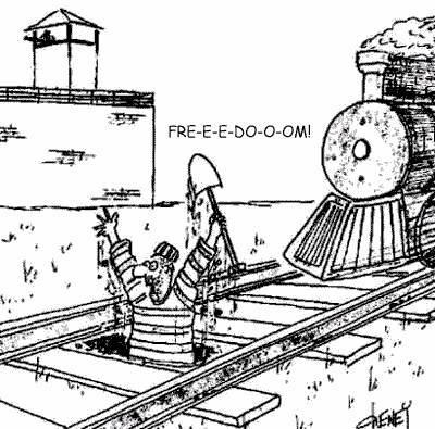 Freedom Cartoon