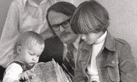 John Jeremiah Sullivan with his father