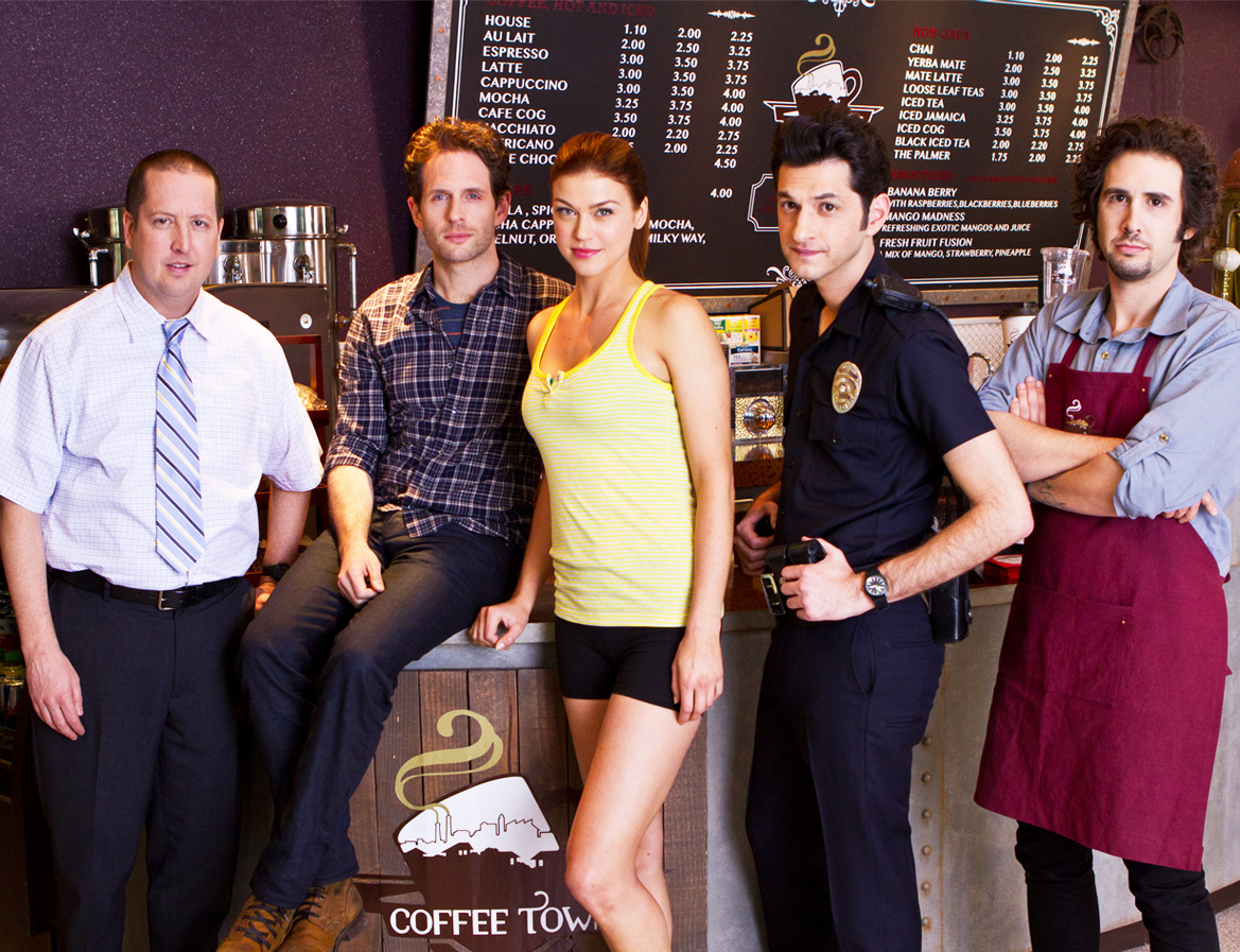 coffee town cast