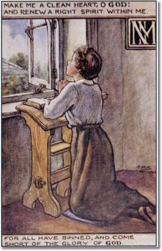 cicely-mary-barker-religious-works-spck-postcard-1916-the-prayer