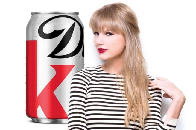 Taylor Swift New Ambassador Coca-Cola