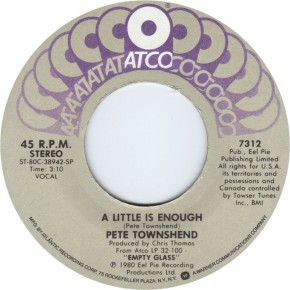 A Little Is Enough (for Pete Townshend)