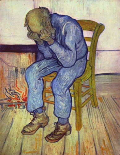 """At Eternity's Gate,"" Vincent Van Gogh"