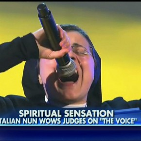 """Sister-Ax Evangelizes The Voice: """"God Doesn't Take Anything Away from Us"""""""