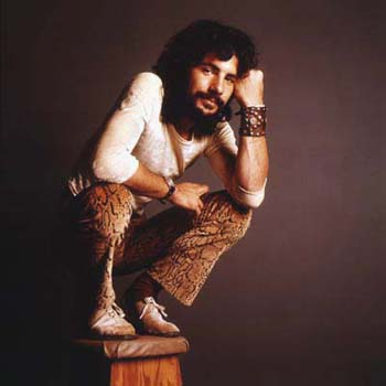 Cat Stevens in A&M studio for a Poster