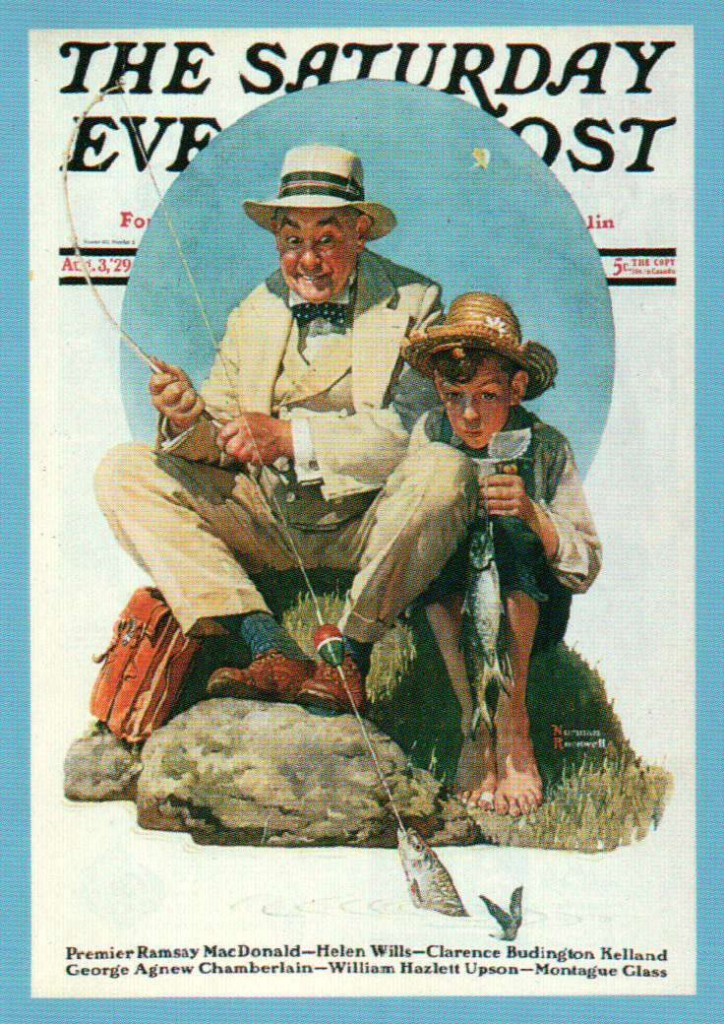 fishing-lesson-normal-rockwell-1