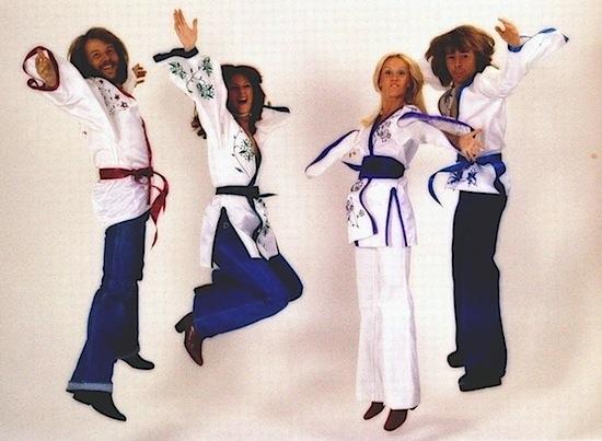 ABBA jump!