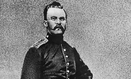 Friedrich Nietzsche in Military Uniform