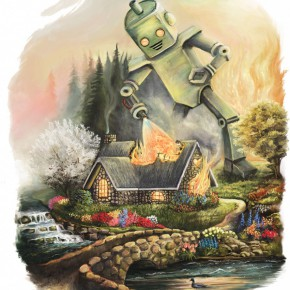 Francis Schaeffer on the Problem with Thomas Kinkade's Optimistic Art