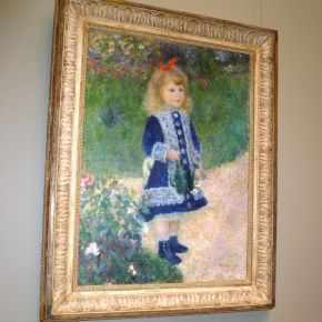 Ode On Renoir S A Girl With A Watering Can Seeing The