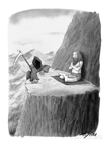 the grim reeper visits a guru