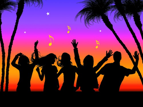 holiday_beach_party_ppt_Background