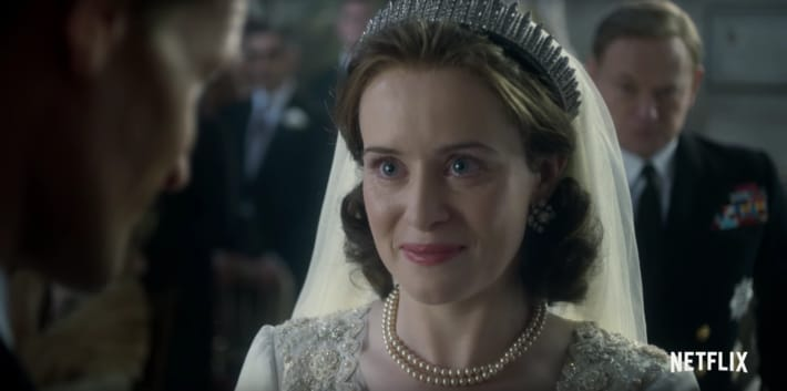 elizabeth-marries-philip-the-crown-netflix