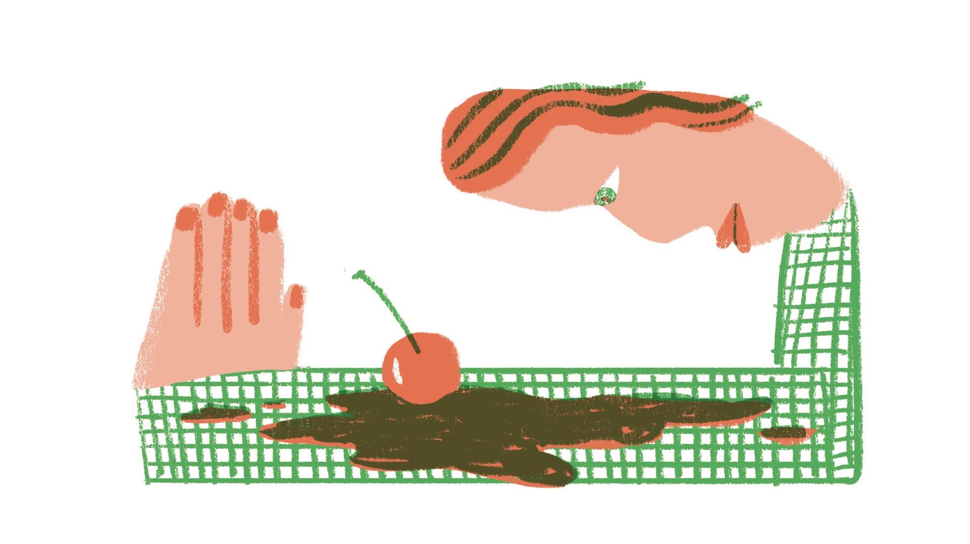 Spot illustrations by Lilli Carré (lillicarre.com)