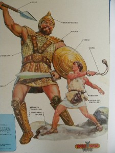 Toy - Action Figure - Beginners Bible - David And Goliath ... |David And Goliath Action Figures