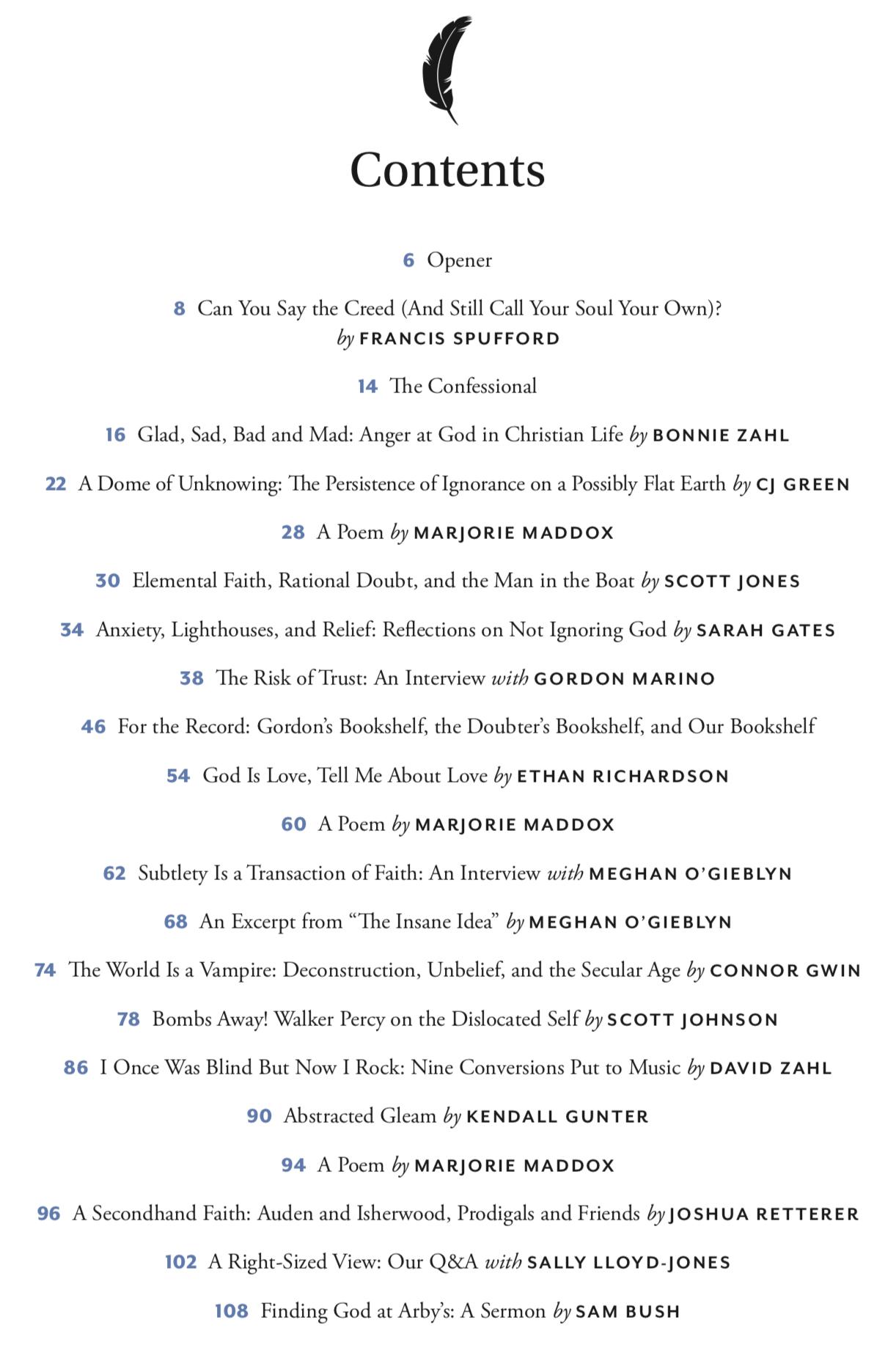 See It, Believe It! The Faith & Doubt Issue! | Mockingbird