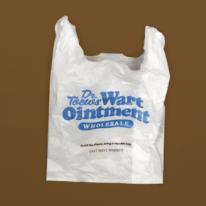 The Writing on the Bag (Paper, Plastic, or Shame?)