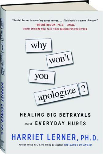 The Art of a Good Apology: Our Q&A with Harriet Lerner | Mockingbird