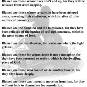 Blessed Are the Untrustworthy - David Zahl