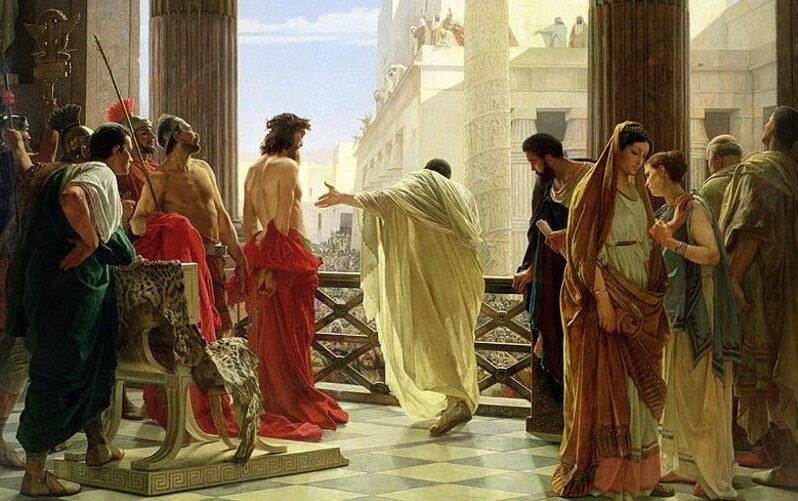 Ecce homo Pilate